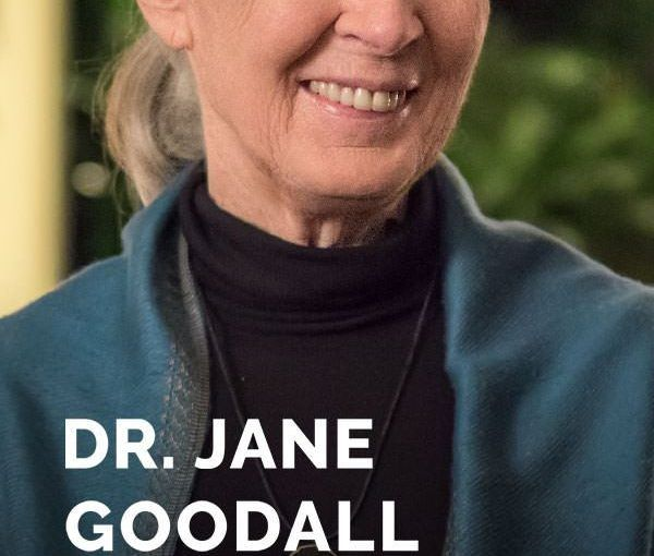 Dr. Jane Goodall Teaches Conservation
